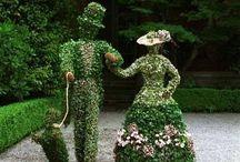 Bahçeler, Süs Havuzları / Gardens, Water Fountains