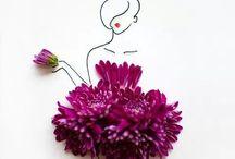 Ciçek Sanatı / Flower Art