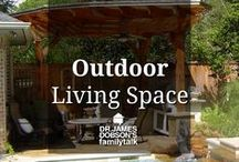 Outdoor Living Space / Ideas for decorating your outdoor living space. Places like your front porch, backyard, garden spaces and so much more.