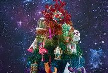 Christmas Trees / What's your Christmas tree theme this year? Find some decoration inspiration.