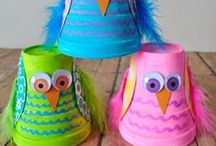 Kids: Frugal Crafts / Frugal crafts for fun that won't break the bank.