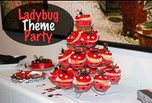 Party: Ladybug Party / I love party themes!  This is a fun Ladybug party idea!  When I had my Ladybug party, I got everything sent to me in a box all at once and only took an hour to decorate!