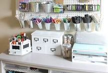 Organizing Inspiration! / Looking to DIY some home organization? Here are a few ideas of where to begin!