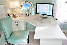 office + workspace / office inspiration / by Mompreneur Media