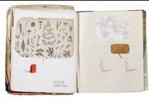 Art - Sketchbooks / sketchbooks, illustrated journals and maybe some artist books