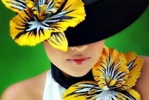 The Crowning Touch/ Hats / Nothing is as beautiful and striking as a lady in a hat. / by Sherry Littlejohn