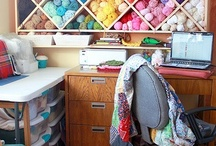 Craft Rooms/ Studio / by Sherry Littlejohn