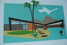 Mid Century Architecture A Go Go / by Carol Roberts