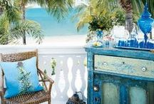 Beach Inspired Decor / Here is a fun board for guests who want to bring the beach home!