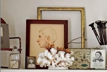 Decor Vignettes & Display / Shelves, Mantels, Vignettes