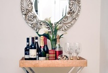 Bar Carts & Trays