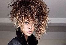 Curly Girl Hair / Hair styles, products, tips all about curly hair