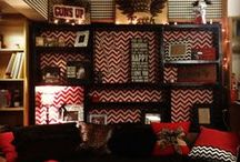 Let's Decorate / Little ideas to make your place at Texas Tech feel more like home. #ttu #decorate #dormroom