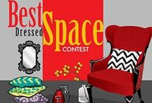 Let's Compete for Best Dressed Space / Best Dressed Space is a competition students can compete in on campus to win awesome prizes for the individuality and creativity of their decorated space. #ttu #ttuhousing #texastech #decorate http://housing.ttu.edu/bestdressedspace