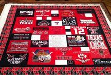 Let's Get Crafty / Fun, DIY Texas Tech projects #ttu #texastech #decorate