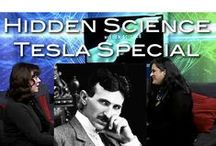 Hidden Science / I am presenting and co-producing a show for The People's Voice TV station and this board is for the shows and the background to them.