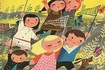 Golden & Wonder Books / Big Golden, Little Golden, Wonder, Rand McNally Elf, and a few others / by Jennifer Gibbs