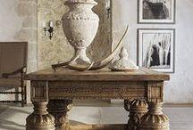 Furniture Pieces/ Vignette/ Vintage/antiques & accessories / by Haifaa Tannous