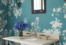 wallpaper / by The Green Room Interiors