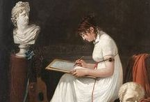 19th C. Paintings / My inspirations and ideas for making historic clothing
