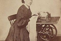 Women Sewing Images