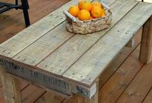 It's All Things Pallets! / Upcycling Pallets for decor, furniture, walls, floors... All Things Pallets! / by Melissa Dettlinger