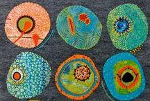 pattern: under the microscope / by Nancy Broadbent