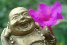 Budas / O una forma simple de encontrar la paz. El sólo hecho de verlos me invitan a inspirar y soltar...