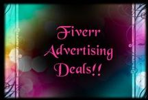 Great seller on Fiver GIG I wrote a positive review / Here are all the Fiverr deals for all your advertising needs !! Fiverr shop owners are welcome to come and pin you can   Contact me to be added to this board  http://www.fiverr.com/lildiva   !!! Pin your deals as much as you would like! good luck to all !!