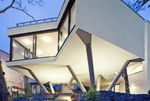 Modern Homes- Exterior / by Haifaa Tannous
