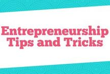 Entrepreneurship Tips and Tricks / Looking for entrepreneuriship ideas to grow or start a business? This board is for you. FIlled with tips on managing a business or how to start a business, you have everything you ened to be a succesful entrepreneur.