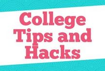 College Tips and Hacks / This board has everything you need for college life. We talk about college organization, college advice, college living, and even study tips.
