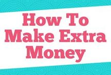 How to Make Extra Money / Learn tips on how to make money fast, how to make money online, ways to make money from home, how to make money in college, how to make money on the side, make money ideas, how to make money without a job, and side jobs extra money.