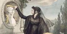 Regency Era Mourning Dress