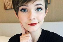 Short hair for Ella beanie