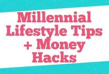 Millennial Lifestyle Tips + Money Hacks / Get the top millennial lifestyle tips that range from money hacks, debt, finance tips, marriage and family, and travel.