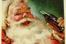 Coke Santa / by Melydia Clewell