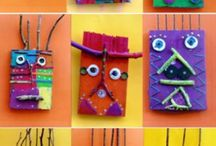 Crafty Kids - Cut/Paste/3Ddesign / by Nina Rojas