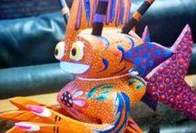 Carving - Oaxacan Alebrijes / by Phil Elliott