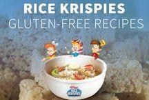 Gluten Free Recipes / Rice Krispies Treats® recipes made with Rice Krispies® Gluten Free Cereal. / by Rice Krispies®