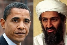 """OBAMA/OSAMA: A """"B"""" AND AN """"S"""" IS THE ONLY DIFFERENCE; THEIR AGENDA IS THE SAME: DESTROY AMERICA / IF Bin Laden was dead, ANYONE WHO HASN'T BEEN BRAINWASHED BY OBAMA would realize that Obama  planned to save Osama. If Obama ordered the hit on Bin Laden & BinLaden was killed, wouldn't the terrorists so angry over a You Tube video they killed our Ambassador & 3 Americans on 9/11/12 would INSTEAD have attacked the White House with Obama in it; An eye for an eye!! Navy Seals involved in the mission to kill Bin Laden & now mysteriously dying.Why?Because they know Bin Laden is ALIVE! / by Susie"""