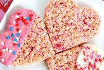 Valentine's Day Recipes / Celebrate Valentine's Day by making one of these recipes with the littlest loves of your life. / by Rice Krispies®