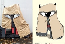Creatures In The Street / I take photos and draw the creatures I see out in the wild.  http://creaturesinthestreet.com