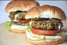 Plant Strong Veggie Burgers /  Patties / by Phil Elliott