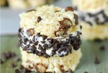 Treats Made With Ice Cream / Rice Krispies Treats® go a la mode with these cool, creamy recipes. / by Rice Krispies®