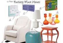 Nursery Ideas / An ideal space would be that ahhh of a place where mother and baby go to nurse — a corner or even a room with a glider, a table, and other items that create both comfort and a great feeling of support!