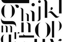 inspiration: type / by Renee Duenow