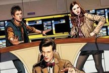 Doctor Who / Hop on the Tardis and get wibbly-wobbly with us! / by Comediva