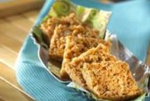 Treats Made With Butterscotch / Rice Krispies Treats® with an old timey Butterscotch twist.