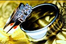 wedding rings / the perfect circle, a symbol to the world of your commitment to each other.
